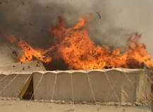 bigtent-on-fire